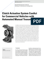 Clutch Actuation System ConAct for Commercial Vehicles With Automated Manual Transmissions