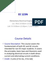 EE123N Intro