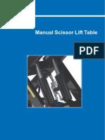 Static Scissot Table Manual MHS.com Ltd