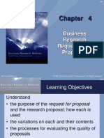 Business Research Request and Proposals