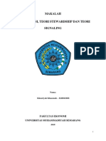 makalah Teori agensi, stewardship dan signaling.docx