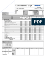 Form Penilaian Karyawan (Level Operator)