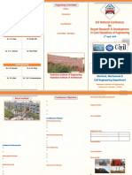 3rd National Conference - Brochure Updated