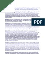 RELATED MANDATES ON RICE FUND.docx