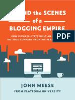 Behind the Scenes of a Blogging Empire eBook.pdf