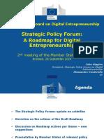 03 Strategic Policy Forum 26.09.14 FINAL