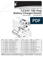 Draper Battery Charger 24V 180Amp