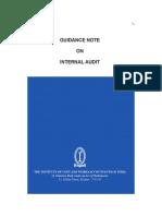 Icmai Internal Audit Guidance Note