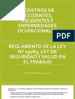Registro de Enf Ocupacional y Acc e Inc