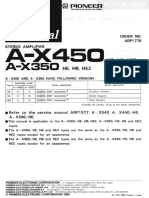 Pioneer a X450 Service Manual (1)