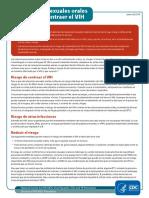 Spanish Risk Behavior OralSex