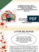 Presentasi Keluarga Sehat Kota batam