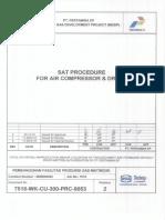 7518 Wk Cu 300 Prc 9053 Sat Procedure Air Compressor z& Dryer