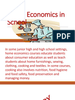 Home Economics in School.pptx
