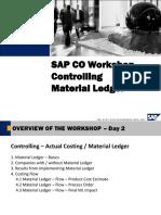 CO Workshop - Material Ledger - 2