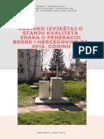 Godišnji izvještaj o kvalitetu zraka u Federaciji BiH u 2018. godini