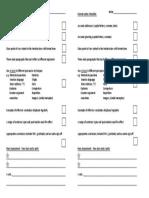 Formal Letter Checklist IGCSE First Language English