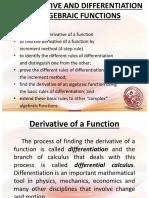 Lesson 7 Four Step Rule Differentiation Formulas2