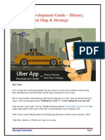 Uber App Development Guide – History, Features, Road Map & Strategy