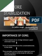 Core Strenthening
