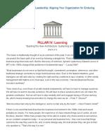 The 7 Pillars of Visionary Leadership