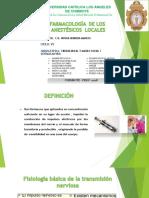 Anestesico Locales Expo 2 Unidad