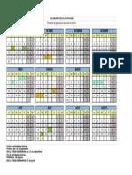 Calendario escolar asturias 2019-2020