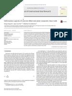 Journal of Constructional Steel Research Volume 103 Issue 2014 [Doi 10.1016_j.jcsr.2014.08.006] Hu, Hong-Song; Nie, Jian-Guo; Eatherton, Matthew R. -- Deformation Capacity of Concrete-filled Steel p
