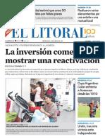 El Litoral Mañana 24-04-2019
