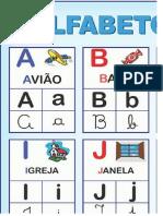 Alfabeto Ilustrado 4 Tipos