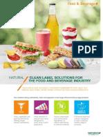Food & Bevearge Flyer-Naturex 2018