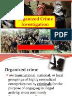 @@@Organized Crime Investigation@@@