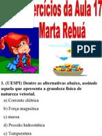 Física PPT - Aula 17 - Exercícios 02