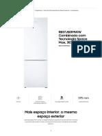 RB37J501MWW Combinado Com Tecnologia Space Max _ Samsung Portugal
