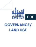 Charter Commission Governance and Land Use