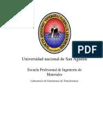 FENOMENOS DE TRANSFERRENCIA