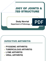 Pathology of Joints & Related Structure (Dr. Dody) Sendi