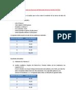 Informe de Mediciones en El Proceso de Fabricación de Barras de Dulce de Leche