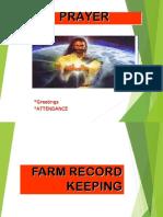 2cotfarm Record Keeping