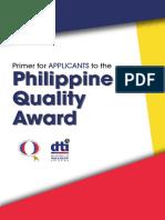PQA Applicants Primer
