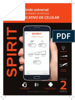 Manual Ventilador Teto SPIRIT Bluetooth v3[Pag Juntas]