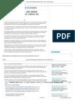 ¿Por Qué El Valor Del Dólar Depende Tanto Del Cobre en Chile_ - 20minutos.com.Mx