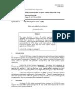 CNS SG8-WP4-PBCS Implementation Issues R1-IATA