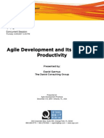 Agile and Productivity