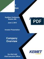 KeyBanc Conference Boston June 2 2010