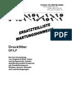 Filter DF LF