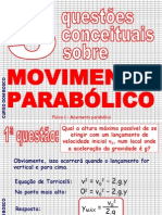 Física PPT - Parábola de Segurança