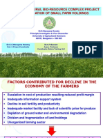 Experience of Rural Bio-resource Complex Project in Intensfication of Small Farm Holdings