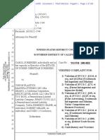 Sorensen v. Vision Plastics Mfg. - Complaint