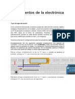 Fundamentos de La Electrónica